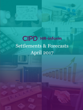 April 2017: Settlements and forecasts