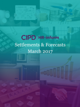 March 2017: Settlements and forecasts