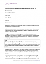 Resignation Letter After Maternity Leave from www.hr-inform.co.uk