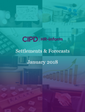 January 2018: Settlements and forecasts
