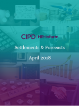 April 2018: Settlements and forecasts