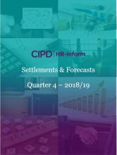 Settlements and forecasts - Q4 2018-19